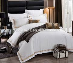 guangzhou whole 5 star hotel used white bedding sets hotel collection quilt linens