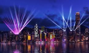 Where To See Symphony Of Lights Hong Kong How Hong Kongs Victoria Harbour Came To Define The City