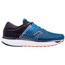 Saucony Triumph 17 Running Shoe Blue Black