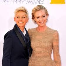 Ellen And Portia Happy Wedding Anniversary Ellen Degeneres And Portia De Rossi