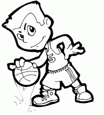 Small Picture Basketball coloring pages for boys ColoringStar