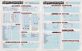 shadowrun 5 character sheet shadowrun 5e street samurai what do you think suggestions