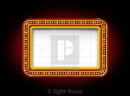 Marquee Sign With Lights Theater Marquee Sign License Download Or Print For 12 40