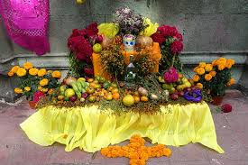 photo essay the day of the dead in oaxaca road affair colorful altar for the day of the dead celebration in oaxaca