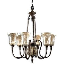 antique iron chandelier uttermost 6 light iron chandelier in antique saddle benita antique black iron 4