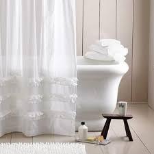 10 extra long shower curtain ideas rilane throughout white linen shower curtain comely white linen shower
