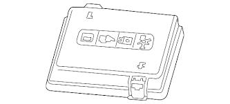 fuse box cover gm 84074159 gmpartsdirect com fuse box cover