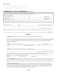 Free Commercial Lease Agreement Forms To Print Washington Commercial Lease Agreement Free Download