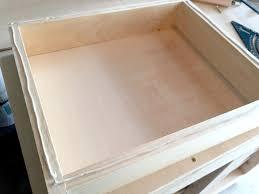 making basic drawers with custom handles