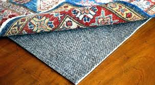 rug gripper area rug gripper carpet pad under area rug to gripper on photo features evermore
