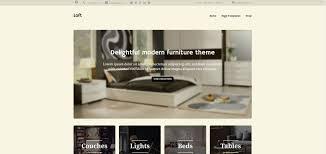 Best Furniture Store E merce Themes for Wordpress
