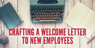 Crafting a Wel e Letter to New Employees 1