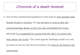 chronicle of a death foretold essay chronicle of a death foretold theme anaylsis university scribd chronicle of a death foretold theme anaylsis university scribd
