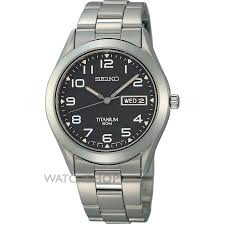 "men s seiko titanium watch sgg711p9 watch shop comâ""¢ mens seiko titanium watch sgg711p9"