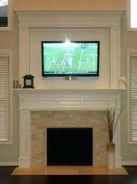 installing tv above fireplace we often get asked about installing above fireplaces and what is required installing tv above fireplace
