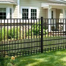 mainstreet aluminum fence 3 4 in x 2