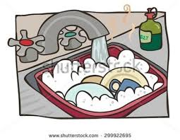 dishes in sink clipart. Delighful Dishes Dishes Kitchen Sink Clipart On In P