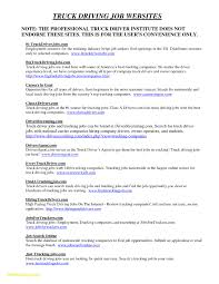 Trucking Resume Sample Commercial Truck Driver Resume Sample Fresh Truck Driver Resume 49