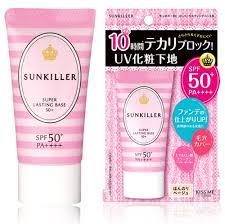 isehan sun bc super lasting makeup base spf50 pa