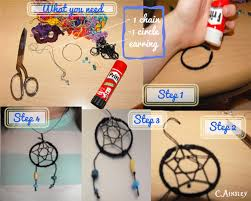 How To Make Your Own Dream Catcher Necklace New DIY Dream Catcher Necklace On We Heart It
