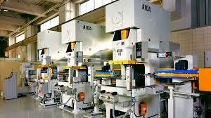 Stamping Press Design Aida Mechanical Presses Gap Frame Nc1