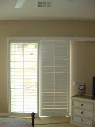 image of stylish window treatment ideas for sliding glass doors