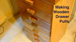 Making Wooden Drawer Pulls