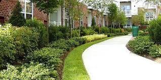 apartment landscape design. Apartment Landscape Design Large Complex Landscaping Timber Solar Lights K