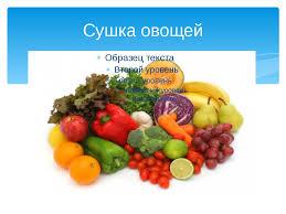 Исследовательская работа в классе по теме Определение  слайда 15 Сушка овощей