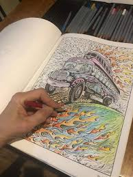 Brand new in plastic, unused. Dreaming In Color A Coloring Book For All Ages Woodstock Artist Collective