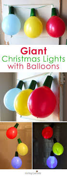 How to make Giant Balloon Christmas Lights. Work Christmas Party  IdeasChristmas ...