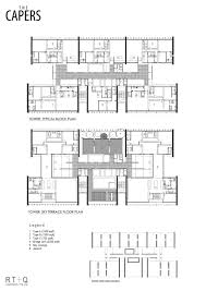 The Capers / RT+Q Architects. 15 / 20. Floor Plan