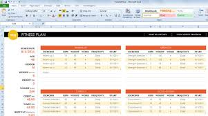 Fitness Progress Chart Template For Excel Chart Your Physical Fitness Progress And Get Healthy This