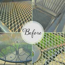 painting wrought iron furniture. We Have Had Our Wrought Iron Furniture For 7+ Years--all Of Which Was In Humid Climates. It Has Held Up Remarkably Well, But The Time Definitely Come Painting L