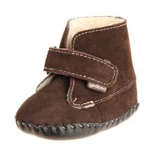 pediped originals henry boot infant brown profile