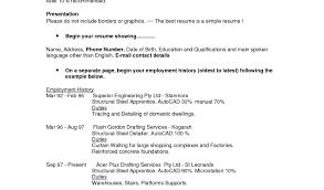 Resume Stunning Correct Resume Format 5 Stunning Best Resume