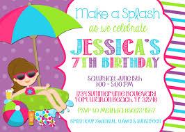 pool birthday party invitations templates pool party pool birthday party invitations templates pool party invitation