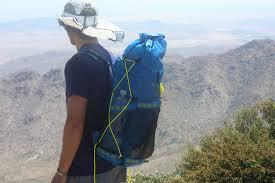 diy backpack for hiking