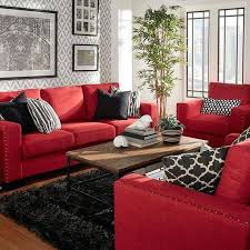 Red Living Room Painted Red Living Room Decor Living Room Paint