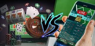 Real Money Casino Gambling vs Sports Betting - Which Is a Better Option