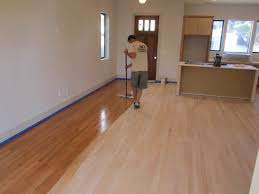 Concrete Wood Floors Modern Concrete And Hardwood Floor Reo Green Button Homes