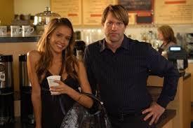 Still of Aaron Eckhart and Jessica Alba in Meet Bill