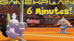 6 Minutes of Pokémon Sword & Shield SPOILER-FREE Gameplay! (Fighting Gym  Trial, Sirfetch'd & More!) - YouTube