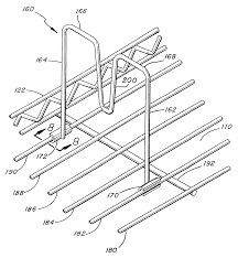patent us6460710 wire shelving adjustable divider assembly patent drawing