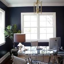 office room diy decoration blue. navy blue office transitional denlibraryoffice tiffany jones layered ruginterior room diy decoration