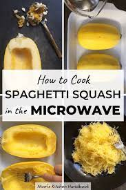 how to cook spaghetti squash in the