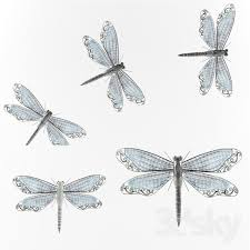 dragonfly wall décor