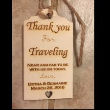 thank you tags for wedding favors custom rustic wooden thank you tag rustic wedding favor tags