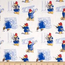 Paddington Bear Toile in Maria - Discount Designer Fabric - Fabric.com & zoom Paddington Bear Toile in Maria Adamdwight.com