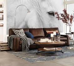 livingroom pottery barn leather couch craigslist chair scratches sofa cleaning manhattan sofas sectionals turner square